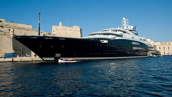 One tycoon purchased Serene, a 450-foot yacht, which isn't even the second biggest private yacht. (Photo: Wikimedia Commons)